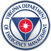 Seal of the Virginia Department of Emergency Management