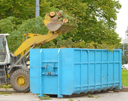 Stock photo of moving debris